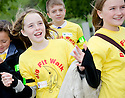 09/06/2010   Copyright  Pic : James Stewart.008_big_fit_walk  .::  HELIX PROJECT ::  THE HELIX GREEN TEAM'S KIMBERLEY AND OLIVIA LET THE MSPS KNOW WHO CAN GO ON THE BIG FIT WALK  ::.