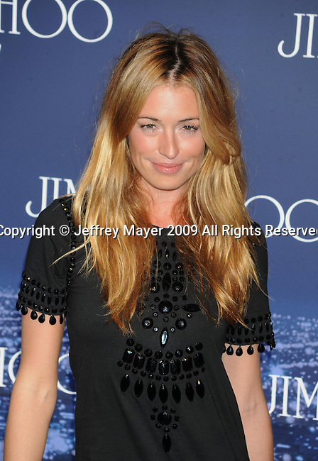 WEST HOLLYWOOD, CA. - November 02: Cat Deeley  arrives at Jimmy Choo For H&M at a private residence on November 2, 2009 in West Hollywood, California..Headline: .