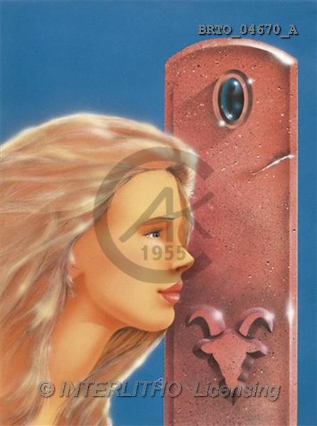 Alfredo, MODERN, zodiacs, paintings(BRTO04670/A,#N#) Sternzeichen, zodíaco, illustrations, pinturas