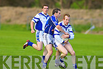 Gripping: Kerins O'Rahillys v Laune Rangers' Liam Hassett in their County League Division 1 game in Killorglin.