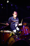 Rocks, Kaohsiung -- Pete Marozzi of the Mud Bros. hitting the drums at Rocks.