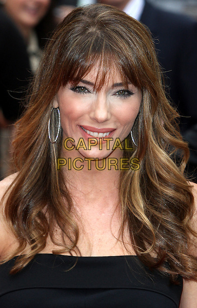 Jennifer Flavin.'The Expendables 2' UK film premiere held at the Empire Leicester Square,.London, England..13th August 2012.headshot portrait black strapless .CAP/ROS.©Steve Ross/Capital Pictures.