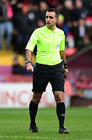 Referee Paul Marsden<br /> <br /> Photographer Chris Vaughan/CameraSport<br /> <br /> The EFL Sky Bet League Two - Lincoln City v Crewe Alexandra - Saturday 6th October 2018 - Sincil Bank - Lincoln<br /> <br /> World Copyright &copy; 2018 CameraSport. All rights reserved. 43 Linden Ave. Countesthorpe. Leicester. England. LE8 5PG - Tel: +44 (0) 116 277 4147 - admin@camerasport.com - www.camerasport.com