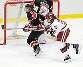 ?, Kate Buesser (Harvard - 20) - The Harvard University Crimson defeated the Northeastern University Huskies 1-0 to win the 2010 Beanpot on Tuesday, February 9, 2010, at the Bright Hockey Center in Cambridge, Massachusetts.