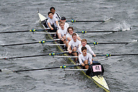 Crew: 41  St Pauls Sch BC  Event: School 2nd Eights<br /> <br /> Schools' Head of the River 2017<br /> <br /> To purchase this photo, or to see pricing information for Prints and Downloads, click the blue 'Add to Cart' button at the top-right of the page.