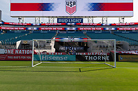 Jacksonville, FL - Thursday April 5, 2018: EverBank Field during an International friendly match versus the women's National teams of the United States (USA) and Mexico (MEX) at EverBank Field.
