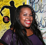 Amber Riley (GLEE)  backstage at Encores! 'Cotton Club Parade' at City Center in New York City on 11/17/2012