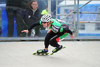 INLINE-SKATEN: HEERDE: Skeeler- en Skatecentrum Hoornscheveen, Europa Cup/Univé Skate Off, 05-05-2012, Michel Mulder (#29), ©foto Martin de Jong