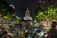 The Republic of Texas Biker Rally in Austin, Texas (ROT Biker Rally) draws as many as 35,000 paying customers to the event grounds. City officials have estimated that the Friday night street party downtown draws as many as 200,000 spectators thus making it one of the largest motorcycle rallies of any kind in the country.