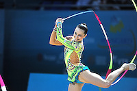 August 29, 2013 - Kiev, Ukraine - SILVIYA MITEVA of Bulgaria performs at 2013 World Championships.