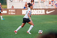 Kansas City, MO - Sunday September 3, 2017: Dominique Richardson during a regular season National Women's Soccer League (NWSL) match between FC Kansas City and Sky Blue FC at Children's Mercy Victory Field.