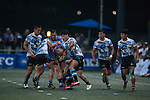 CRFA Gladiators vs Natixis HKFC during the Shield final at GFI HKFC Rugby Tens 2016 on 07 April 2016 at Hong Kong Football Club in Hong Kong, China. Photo by Marcio Machado / Power Sport Images