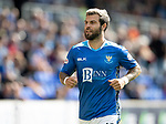 St Johnstone v Dundee&hellip;25.08.18&hellip;   McDiarmid Park     SPFL<br />Richie Foster<br />Picture by Graeme Hart. <br />Copyright Perthshire Picture Agency<br />Tel: 01738 623350  Mobile: 07990 594431
