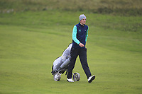 Tiernan McLarnon from Ireland on the 7th fairway during Round 3 Foursomes of the Men's Home Internationals 2018 at Conwy Golf Club, Conwy, Wales on Friday 14th September 2018.<br /> Picture: Thos Caffrey / Golffile<br /> <br /> All photo usage must carry mandatory copyright credit (&copy; Golffile | Thos Caffrey)