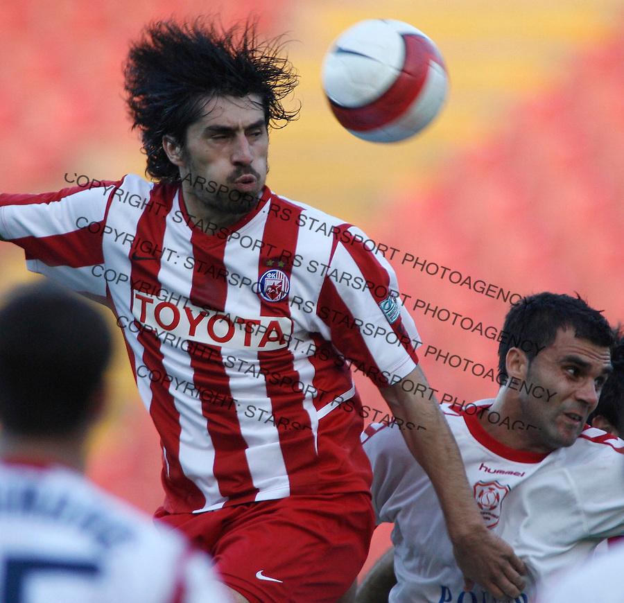 Fudbal, KUP SRBIJE, season 2006/07&amp;#xA;Crvena Zvezda-Sevojno&amp;#xA;Milan Bisevac, red T-shirt&amp;#xA;Beograd, 25.10.2006.&amp;#xA;foto: SRDJAN STEVANOVIC<br />