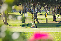 Golfing at Alondra Golf Course Lawndale California