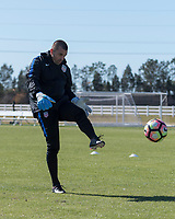 Lakewood Ranch, FL - Sunday Jan. 07, 2018: Jon Busch during an U-19 USMNT training session at Premier Sports Campus in Lakewood Ranch, FL.