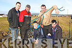 PLOUGHING: Getting ready for the Ballyheigue ploughing competition on Diarmuid Lawlor's Land  Ballymacquinn on Sunday, Enda Donegan (causeway), Aeneas Horan (Castleisland), James's Donegan, Cormac O'Connor and Patrick Sugrue (Causeway)....