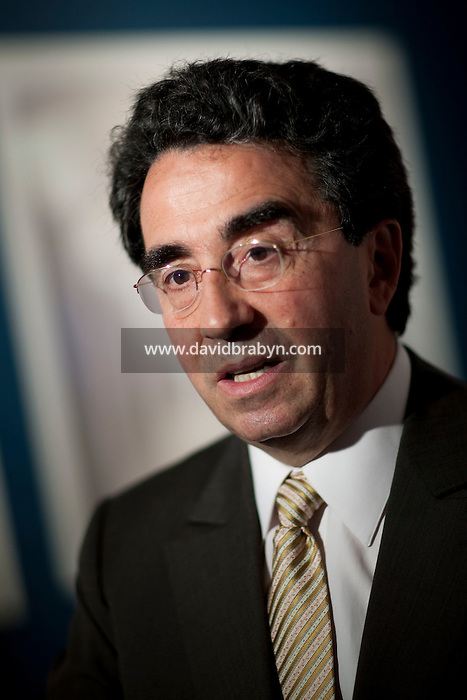Spanish architect Santiago Calatrava, designer of the future New York City World Trade Center Transportation Hub, gives an interview in New York, USA, 8 May 2009.