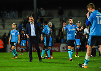 Fleetwood Town's manager Uwe Rosler during the Sky Bet League 1 match between Scunthorpe United and Fleetwood Town at Glanford Park, Scunthorpe, England on 17 October 2017. Photo by Stephen Buckley/PRiME Media Images