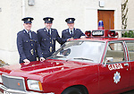 23/7/2015.    Graduating from the Garda College in Templemore this Thursday were Brian Saunderson from Wexford who will be stationed in Bray, Patrick Browne, Baltinglass who will be stationed in Crumlin and Ciaran Thorpe from Newbridge who will be stationed in Coolock.<br /> Photograph Liam Burke/Press 22
