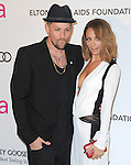 Joel Madden and Nicole Richie Madden at the 21st Annual Elton John AIDS Foundation Academy Awards Viewing Party held at The City of West Hollywood Park in West Hollywood, California on February 24,2013                                                                               © 2013 Hollywood Press Agency