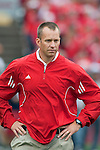 Wisconsin Badgers defensive coordinator Dave Doeren during an NCAA college football game against the San Jose State Spartans on September 11, 2010 at Camp Randall Stadium in Madison, Wisconsin. The Badgers beat San Jose State 27-14. (Photo by David Stluka)