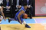 07 March 2015: Duke's Quinn Cook. The University of North Carolina Tar Heels played the Duke University Blue Devils in an NCAA Division I Men's basketball game at the Dean E. Smith Center in Chapel Hill, North Carolina. Duke won the game 84-77.