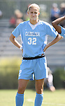23 September 2007: North Carolina's Kristi Eveland. The University of North Carolina Tar Heels defeated the University of San Francisco Dons 2-0 at Koskinen Stadium in Durham, North Carolina in an NCAA Division I Women's Soccer game, and part of the annual Duke Adidas Classic tournament.