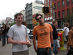 Johnny Knoxville in NYC 05/10/2003