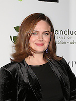 Beverly Hills, CA - NOVEMBER 12: Emily Deschanel, At Farm Sanctuary's 30th Anniversary Gala At the Beverly Wilshire Four Seasons Hotel, California on November 12, 2016. Credit: Faye Sadou/MediaPunch