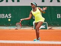 01-06-13, Tennis, France, Paris, Roland Garros,Sloane Stephens