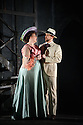 """English Touring Opera presents """"Don Giovanni"""", by Wolfgang Amadeus Mozart, at the Hackney Empire.  Directed by Lloyd Wood, with set & costume design by Anna Fleischle and lighting design by Guy Hoare. Picture shows:  Camilla Roberts (Donna Anna), George von Bergen (Don Giovanni)."""