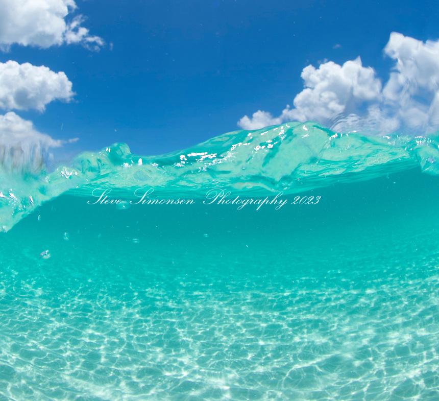 Water and Sky<br /> Blue water at Hawksnest Bay<br /> Virgin Islands National Park<br /> St. John<br /> US Virgin Islands