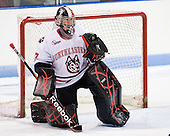 Chris Rawlings (Northeastern - 37) - The visiting St. Francis Xavier University X-Men defeated the Northeastern University Huskies 8-5 on Sunday, October 2, 2011, at Matthews Arena in Boston, Massachusetts.