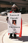 Fan during Oprah Winfrey Mania - Farewell to The Oprah Winfrey Show after 25 Years in Chicago.