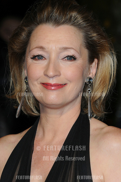 Lesley Manville arriving for the London Film Critic's Circle Awards 2011 at the Bfi South Bank, London. 10/02/2011  Picture by: Steve Vas / Featureflash
