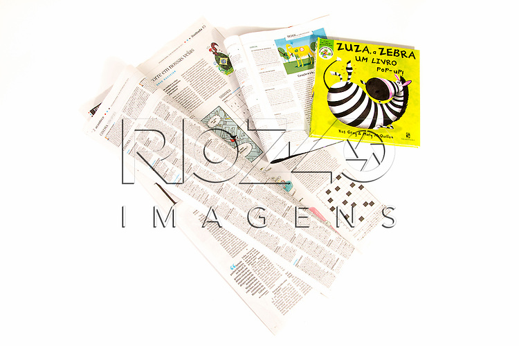 Jornal, livro e revista, São Paulo - SP, 03/2015.