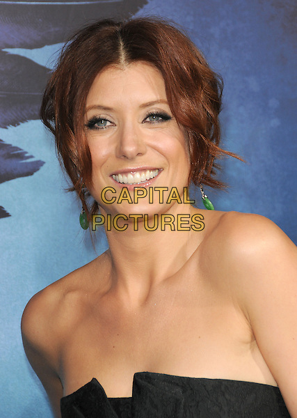 "KATE WALSH.World Premiere of ""Legion"" held at The Arclight Cinerama Dome in Hollywood, California, USA..January 21st, 2010.headshot portrait black strapless dangling green earrings .CAP/RKE/DVS.©DVS/RockinExposures/Capital Pictures."