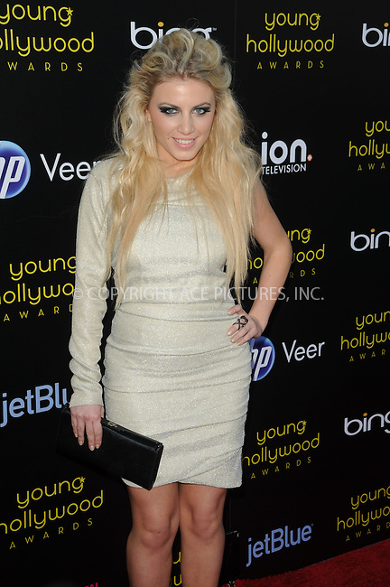 WWW.ACEPIXS.COM . . . . .  ....May 20 2011, LA....Grace arriving at the 2011 Young Hollywood Awards at Club Nokia on May 20, 2011 in Los Angeles, California. ....Please byline: PETER WEST - ACE PICTURES.... *** ***..Ace Pictures, Inc:  ..Philip Vaughan (212) 243-8787 or (646) 679 0430..e-mail: info@acepixs.com..web: http://www.acepixs.com