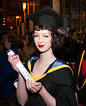 20/1/2016.  With compliments.  Attending the University of Limerick conferrings on Wednesday afternoon was Aoife Coughlan, Kilkenny City who was conferred with a =n MA Comparative Literature and Cultural Studies.<br /> Photograph Liam Burke/Press 22