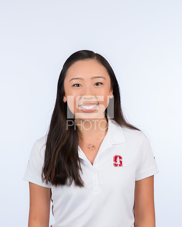 Stanford, Ca - October 4, 2017: The 2017-2018 Stanford Cardinal Women's Golf Team