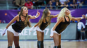 7th September 2017, Fenerbahce Arena, Istanbul, Turkey; FIBA Eurobasket Group D; Belgium versus Serbia; Cheerleaders performs during the match