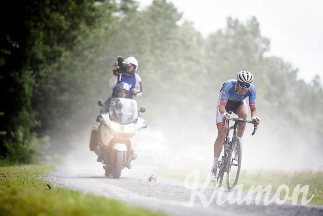 Niki Terpstra (NED/Total - Direct Energie)<br /> <br /> Dwars door het Hageland 2019 (1.1)<br /> 1 day race from Aarschot to Diest (BEL/204km)<br /> <br /> ©kramon