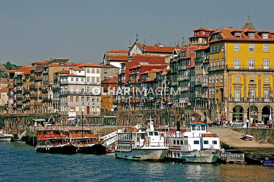 Rio Douro e cidade do Porto. Portugal. 2005. Foto de Rogério Reis.