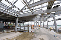 Boathouse at Canal Dock Phase II   State Project #92-570/92-674 Construction Progress Photo Documentation No. 11 on 23 May 2017. Image No. 30 Second Level Steel