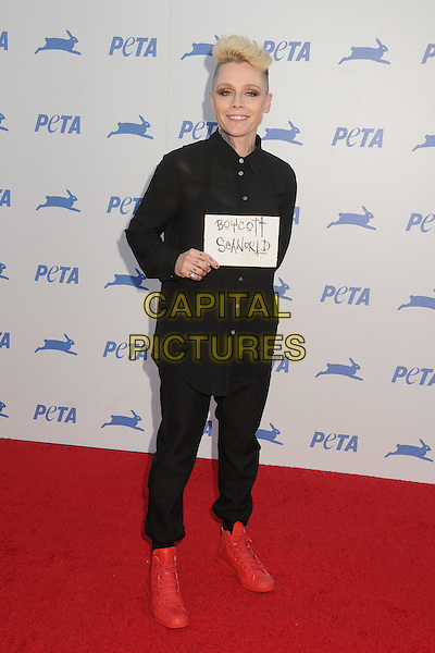 30 September 2015 - Hollywood, California - Otep Shamaya. PETA 35th Anniversary Gala held at the Hollywood Palladium. <br /> CAP/ADM/BP<br /> &copy;BP/ADM/Capital Pictures