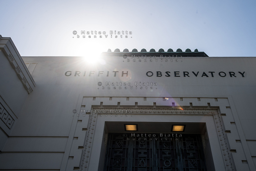 Hollywood nella foto Griffith Observatory geografico Los Angeles 11/10/2017 foto Matteo Biatta Hollywood in the picture Griffith Observatory geographic Los Angeles 11/10/2017 photo by Matteo Biatta