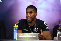 Anthony Joshua during a Press Conference at Hilton London Syon Park on 6th September 2019