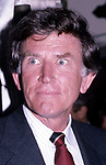 Gary Hart attends aGary Hart Campaign Rally on May 1, 1984 in New York City.